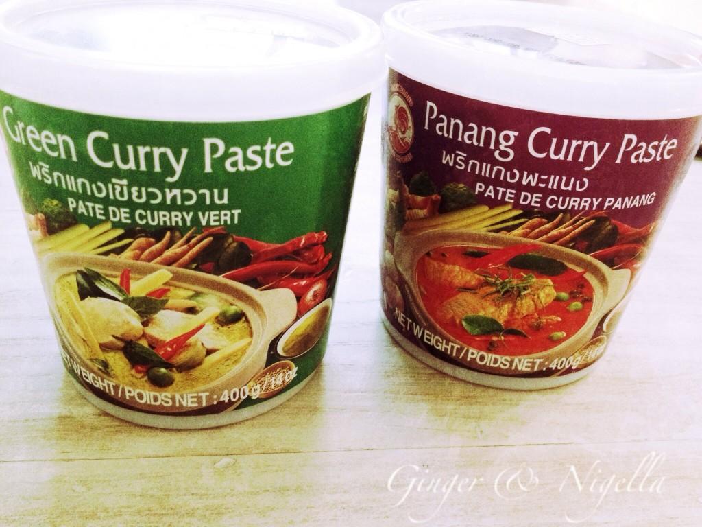 pasta di curry
