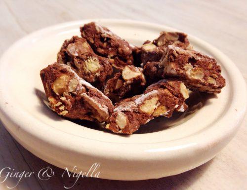 Croccante al cioccolato e nocciole ( L. Montersino)