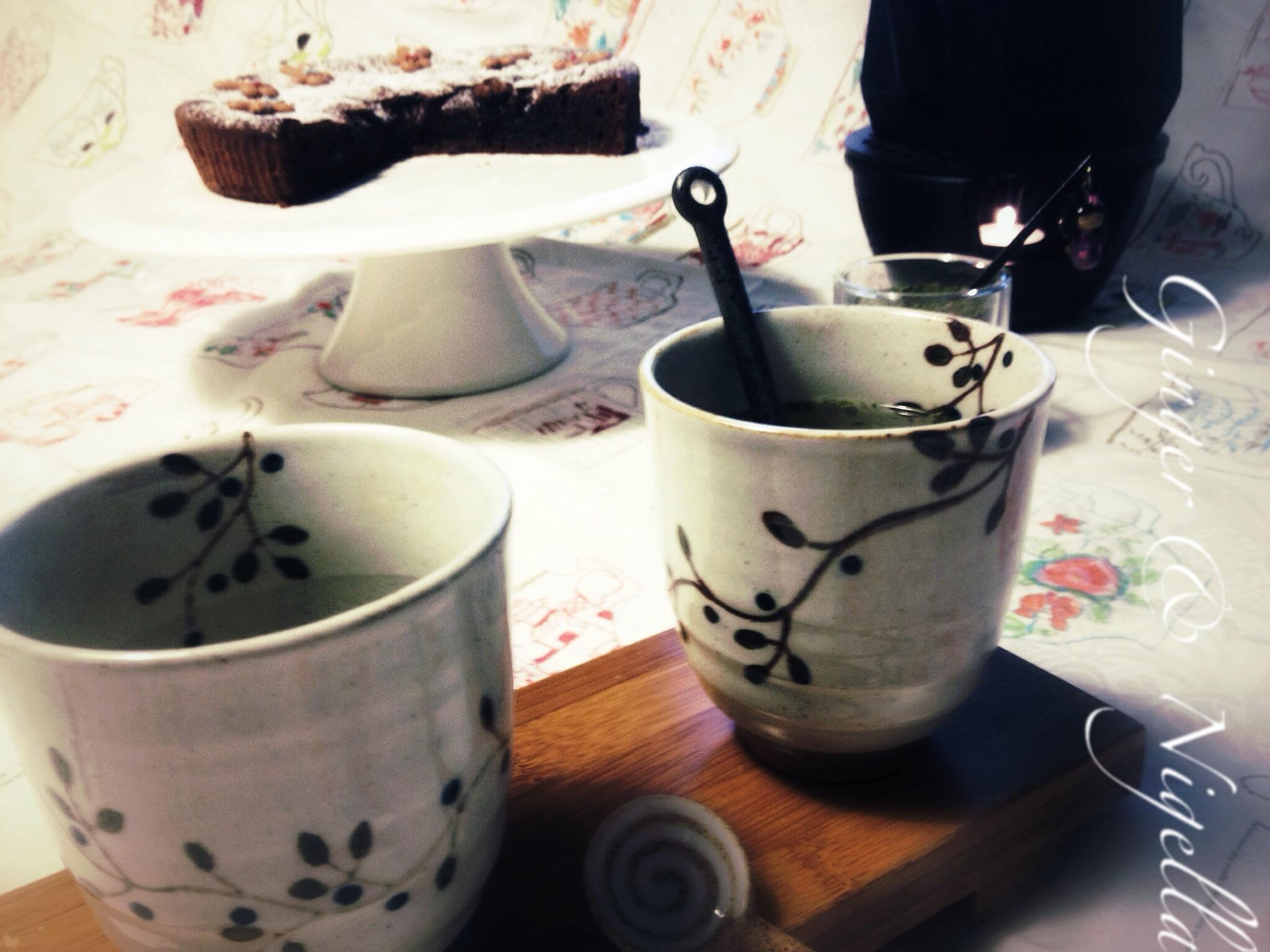 Torta tenerina di santin for Decorazioni zucchero a velo