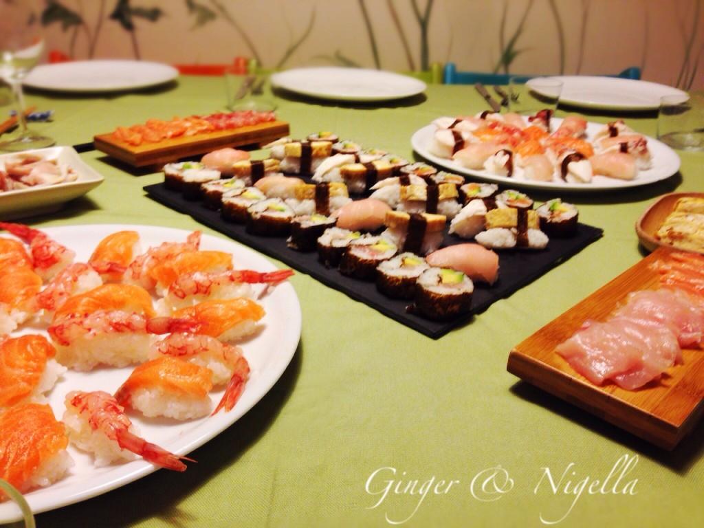 cucina dal mondo, Cucina Giapponese, Giappone, hangiri, nigiri, onigiri, riso per sushi,sushi, norimaki, omelette, alga nori, alga kombu, wasabi, soia