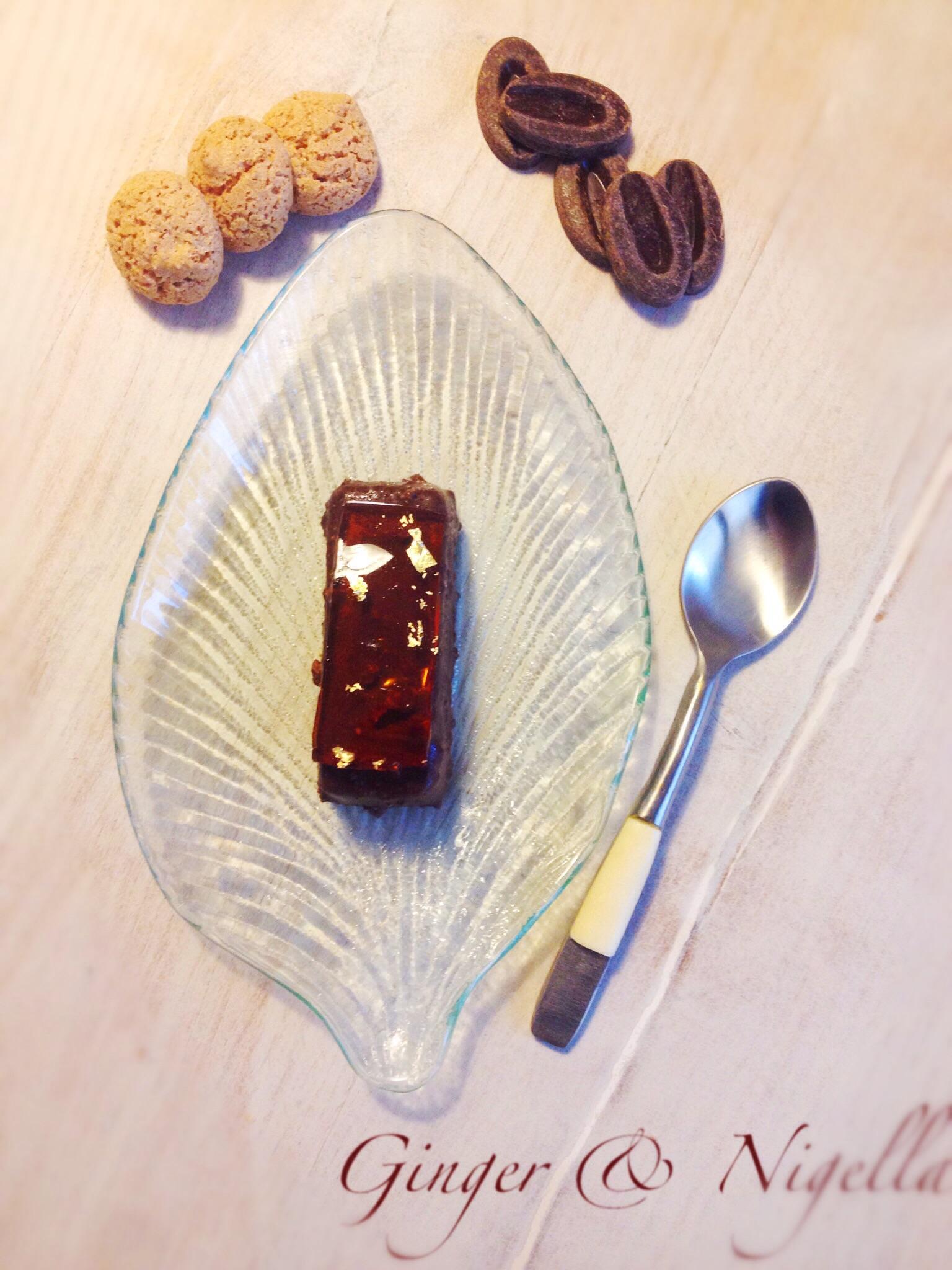 amaretti, bonet, budino, Budino al cioccolato, cioccolato, Piemonte, savoiardi, Galla