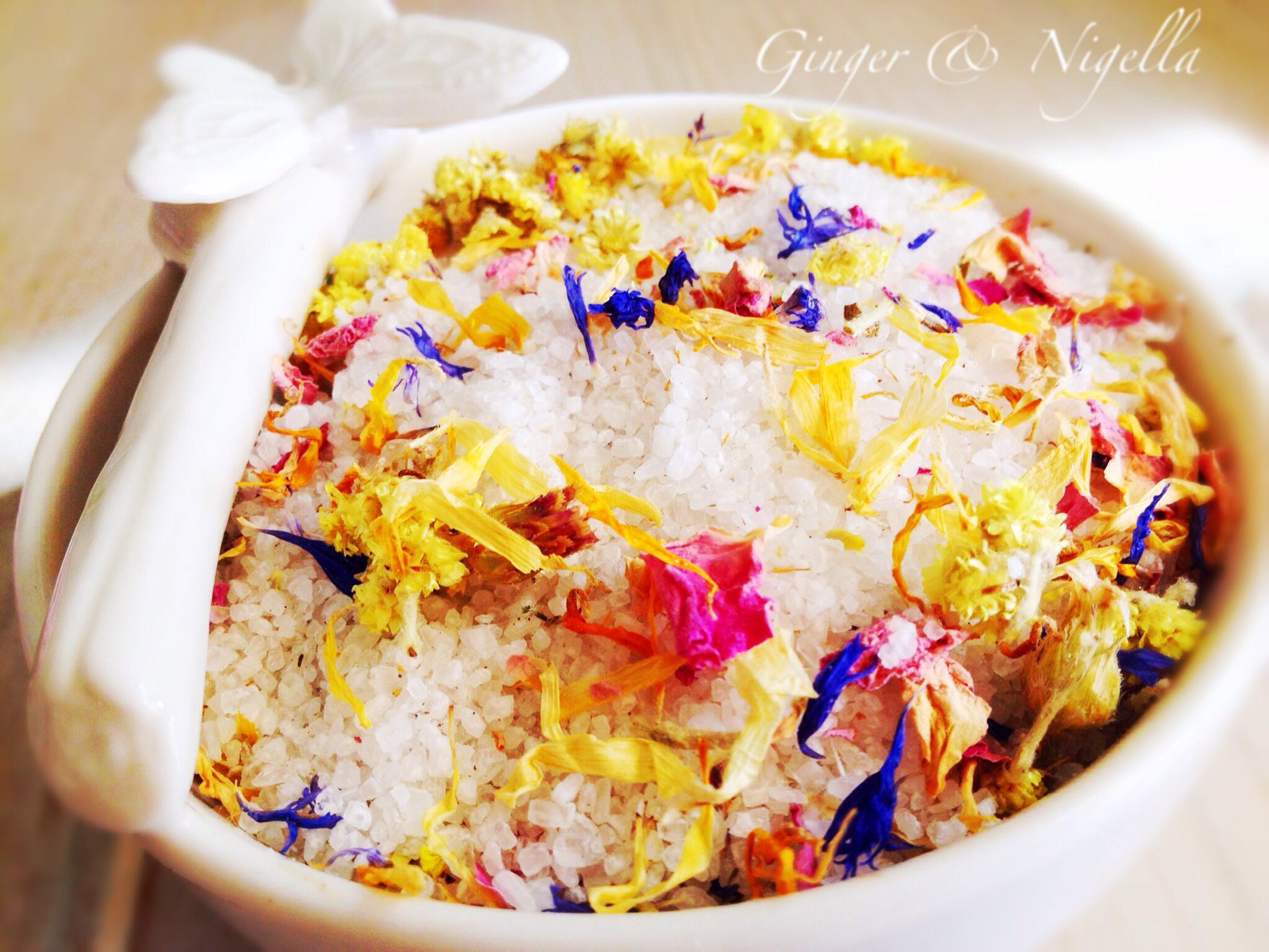 Margherita ginger nigella for Fiori edibili