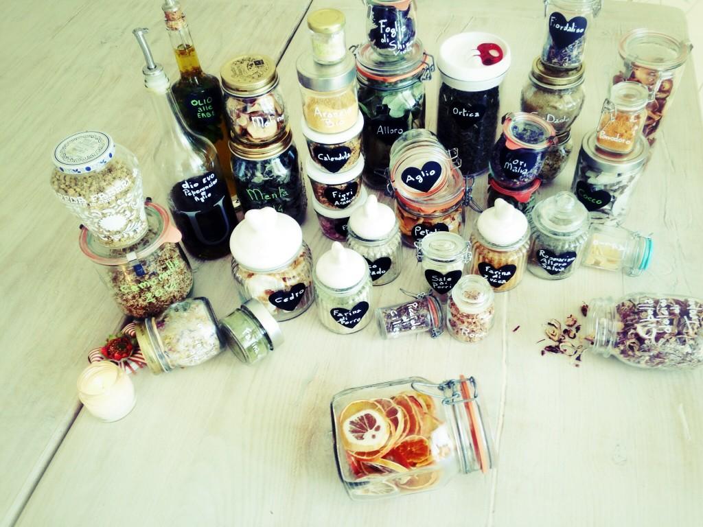 Essiccazione in cucina : per un ecocucina colorata e senza sprechi.