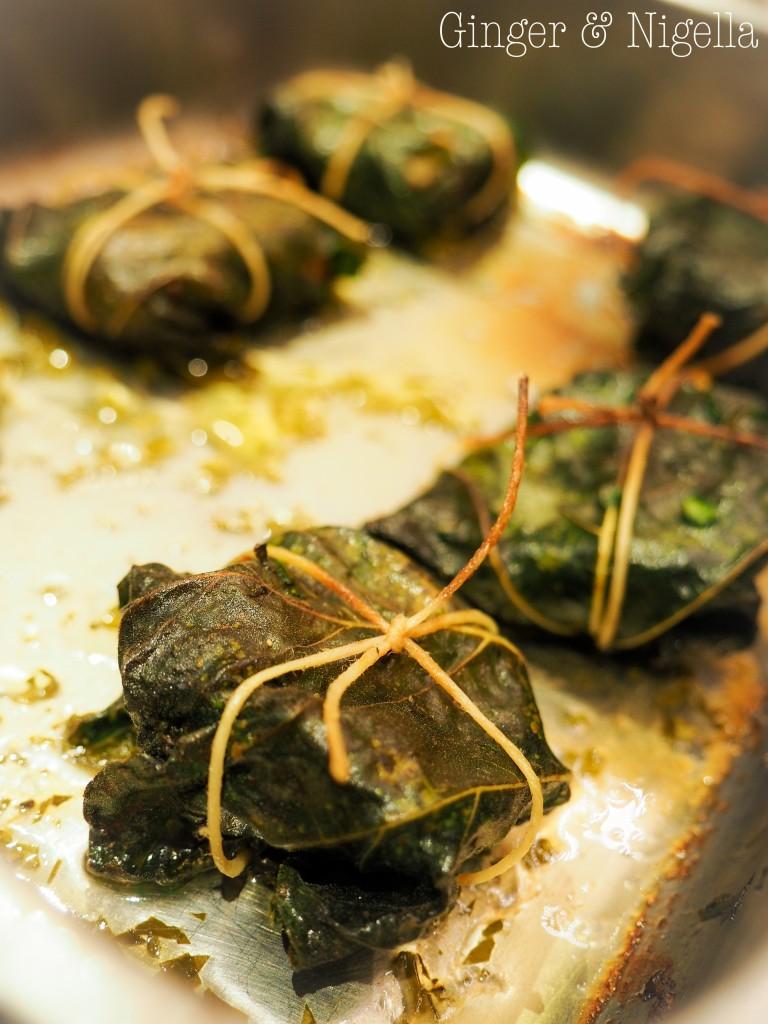 Fagottino di porcino in foglia di fico l 39 autunno nel piatto - Cucina vegetariana ricette ...