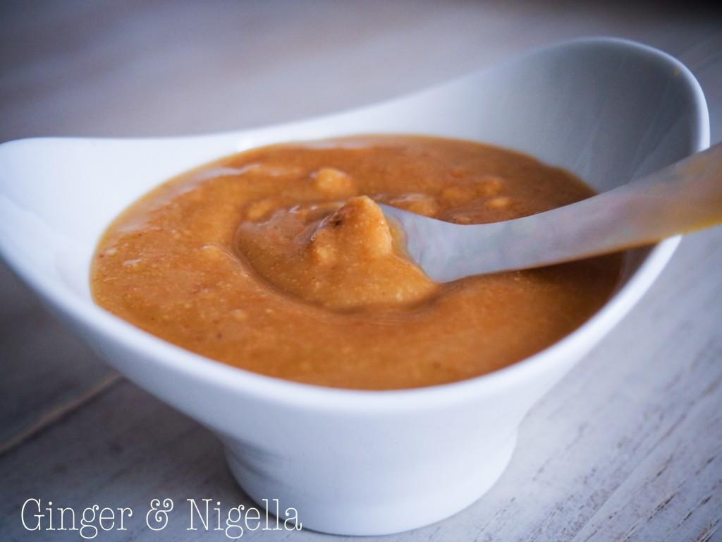 aglio sbianchito, condimento, Langhe, merenda, nocciola tonda gentile, pesto, pesto di nocciole, salsa, vegetariano