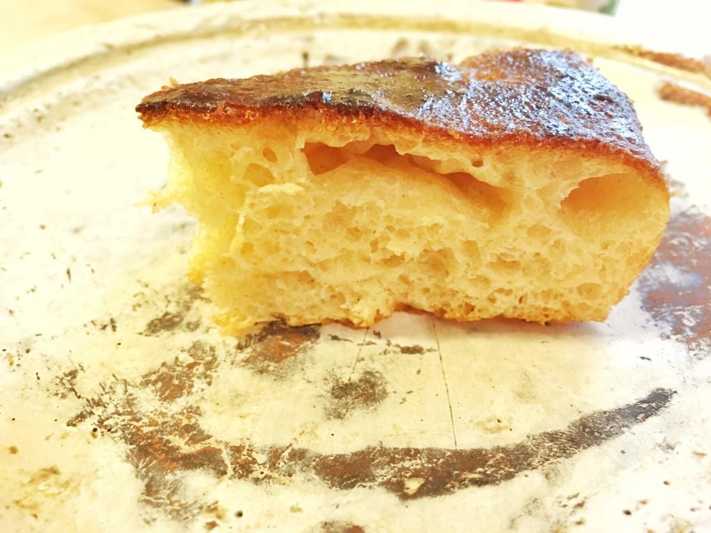 Focaccia dolce di Susa con lievito madre o