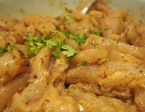 Fajitas di pollo a modo mio