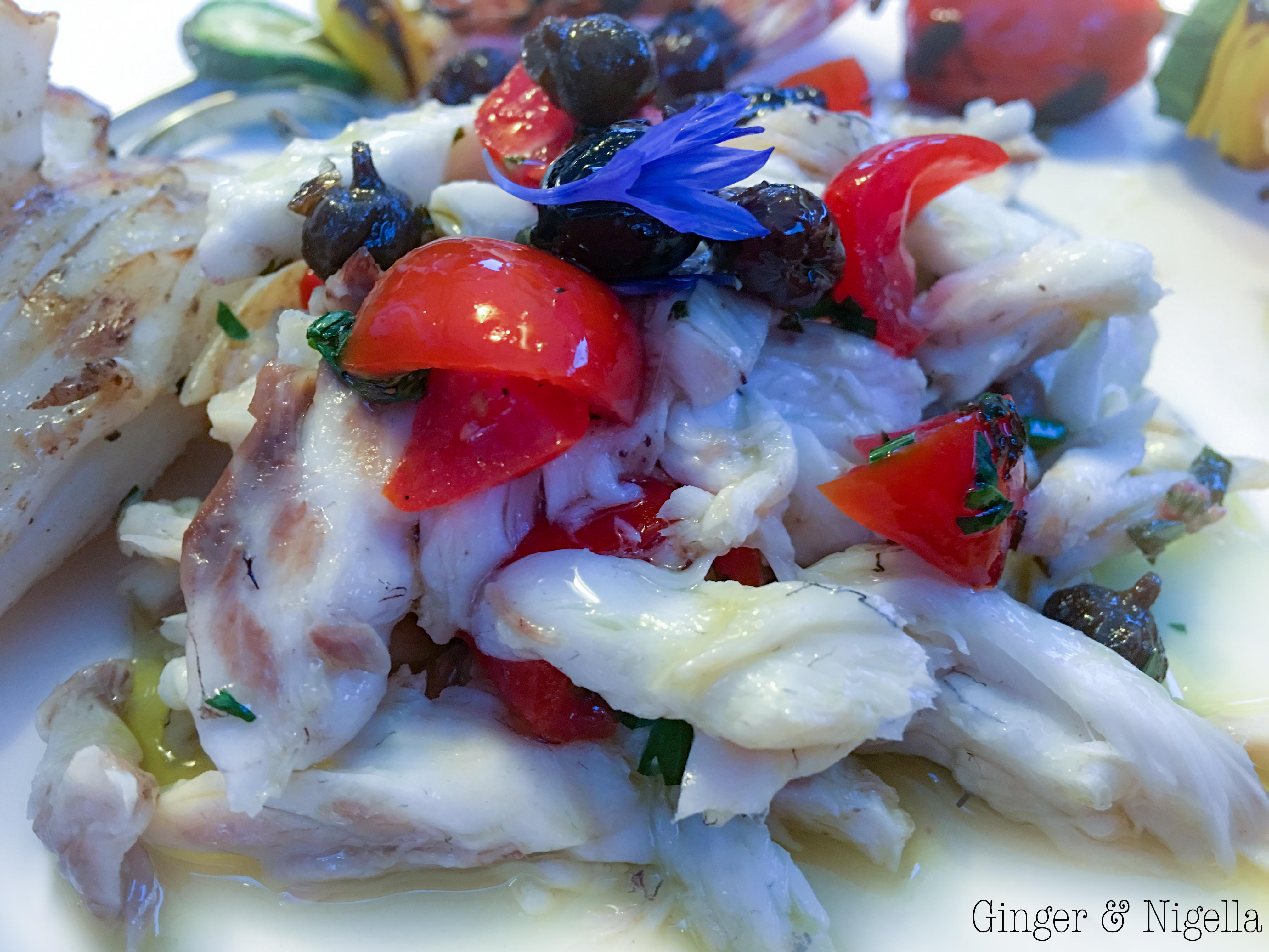 Insalata di branzino tiepida alla mediterranea for Cucina italiana pesce