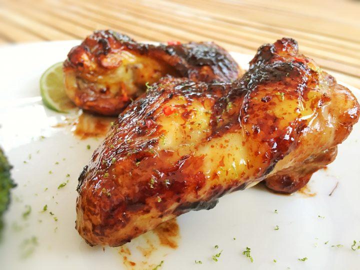 Alette di pollo alla soia profumate con zenzero e lime (Ricetta Light)