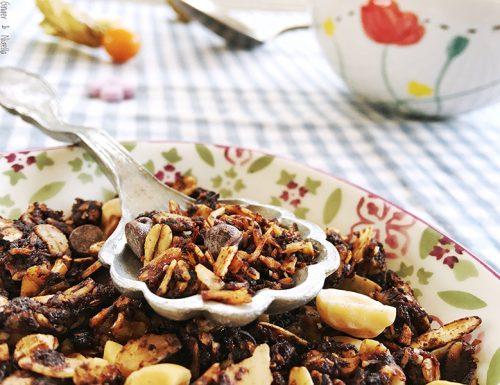 Granola al cioccolato, una delizia per la prima colazione