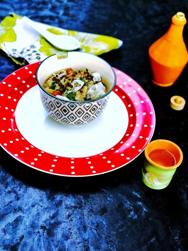 Zuppa autunnale di legumi