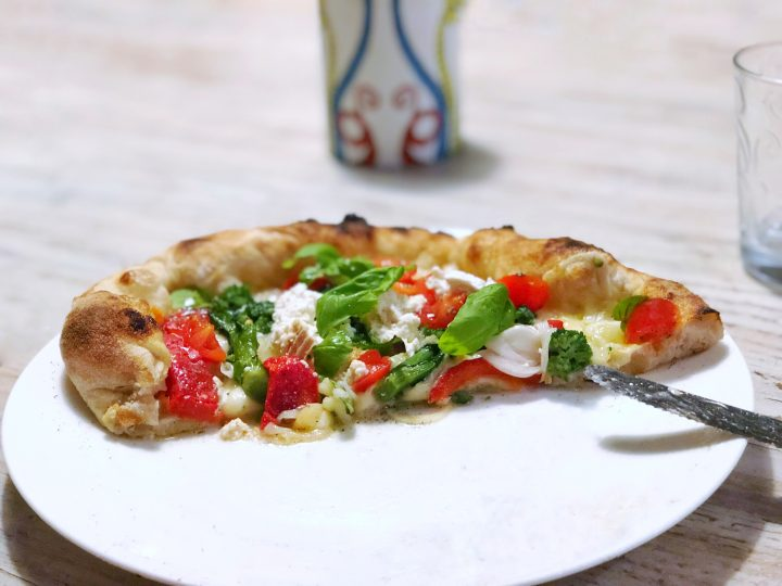 biga, impasto indiretto, pizza Bosco, pizza con biga, pizza napoletana, pizza tonda, Renato Bosco