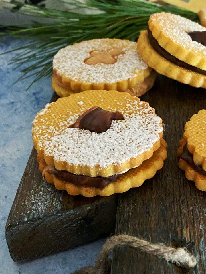 biscotti di natale, pernigotti, pasta sablee, frolla, cioccolato, colazione