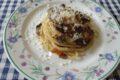 Spaghetti quadrati con funghi