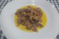 Durelli o ventrigli di pollo in crema di carote