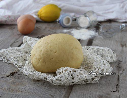 Pasta frolla perfetta per biscotti e crostate