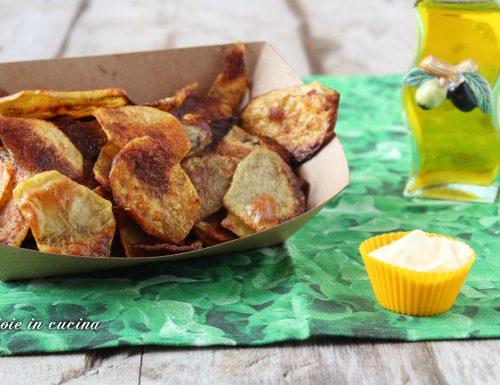 Patatine alla paprika fatte in casa