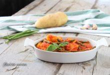 Fagiolini e patate al sugo