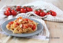 Pasta con tonno e pomodorini