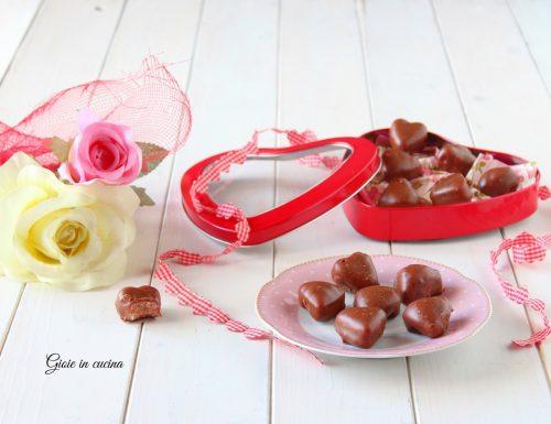Cioccolatini morbidi di San Valentino