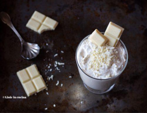 Mousse cioccolato bianco e panna