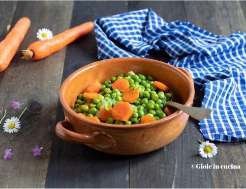 Piselli con le carote