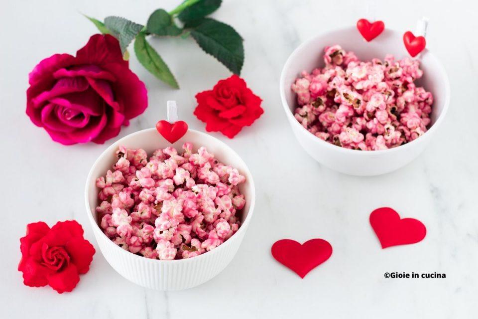 Pop corn rosa