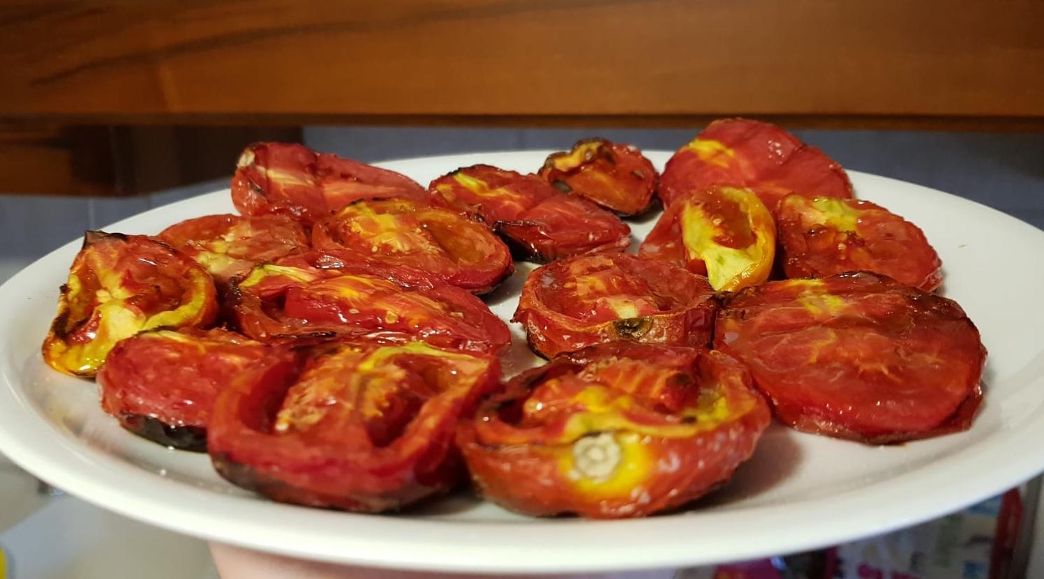 pomodori grigliati arrosto by fatto in casa da