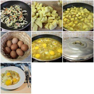 uova con patate