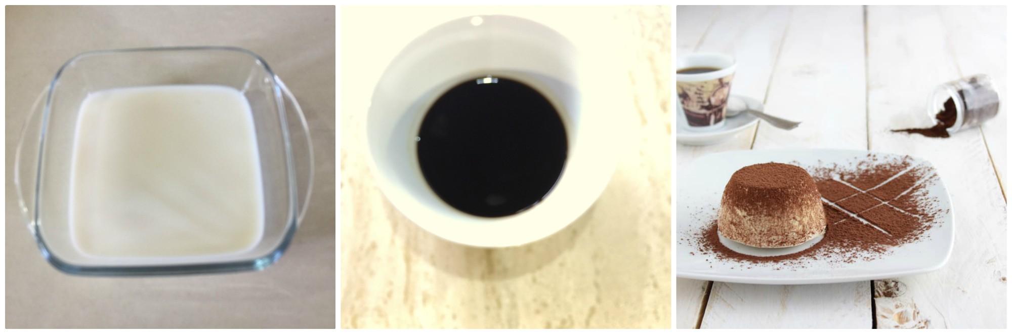 semifreddo al caffè, buono e veloce da preparare