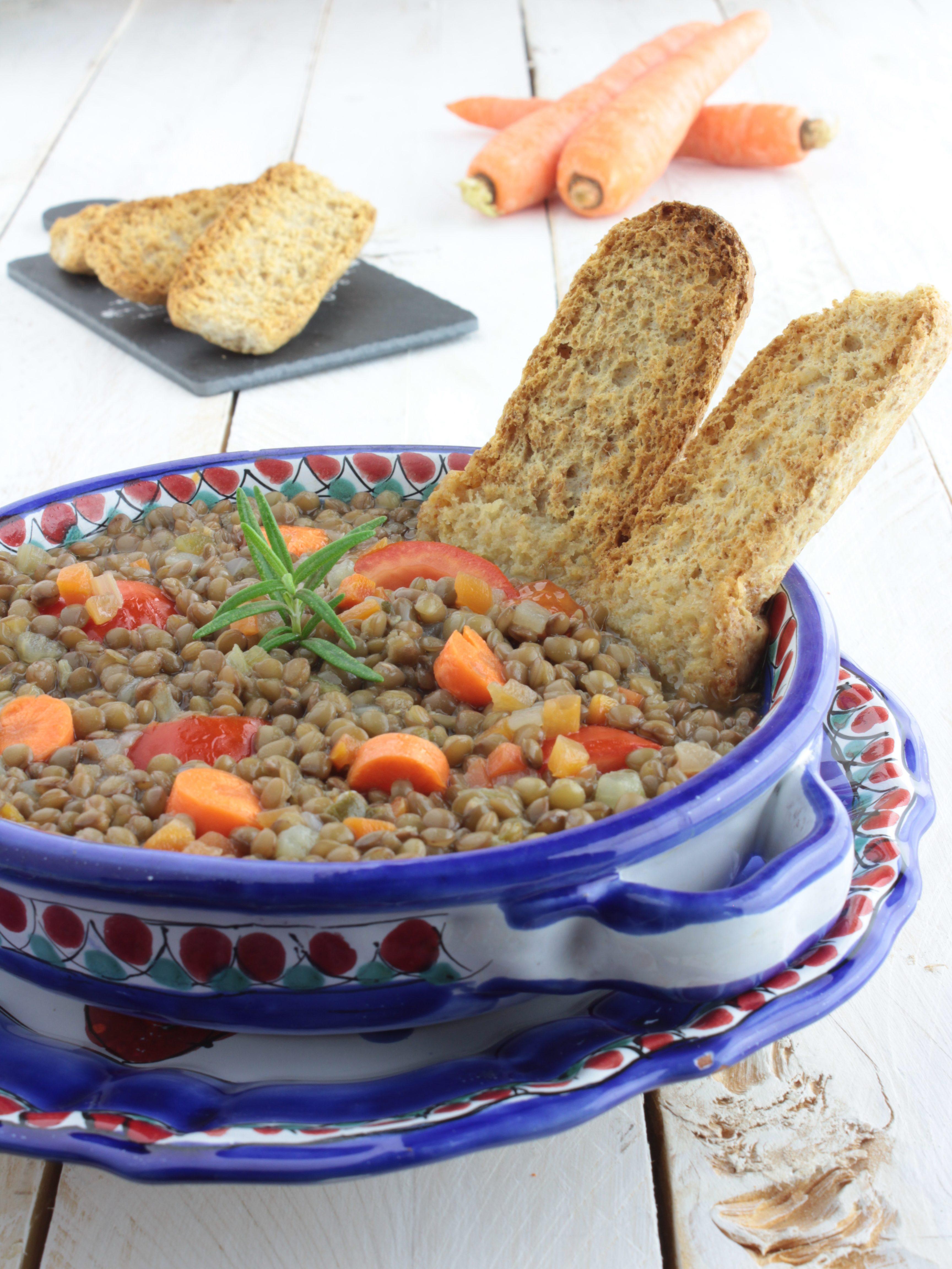Zuppa di lenticchie buonissima