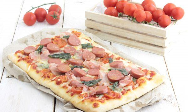 Pizza buonissima, fatta in casa