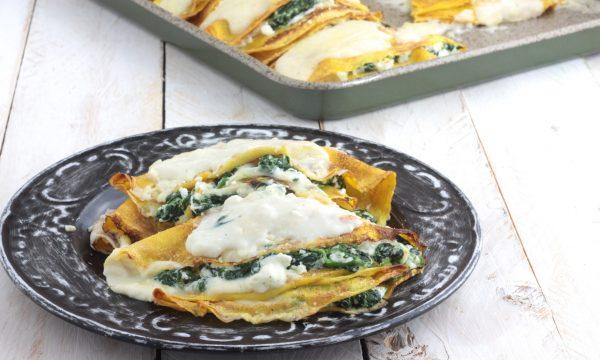CRESPELLE ricotta e spinaci, gustosissime
