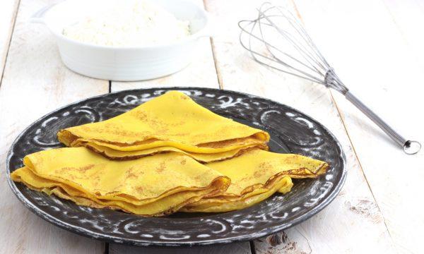 CREPES, ricetta base per crepes dolci e salate