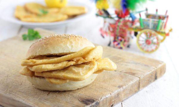 PANELLE PALERMITANE, street food siciliano con farina di ceci