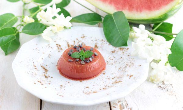 Gelo di anguria buonissimo, dessert estivo
