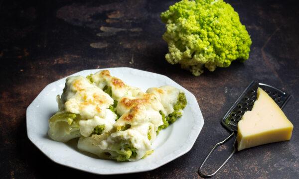 Cavolfiore gratinato al forno, ricetta siciliana