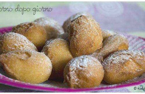 Le mie castagnole (ricetta con panna fresca)