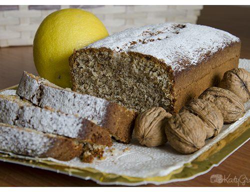 Plumcake al limone e noci, proposta dolce per la colazione