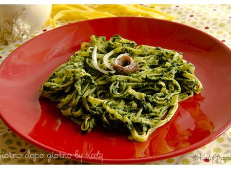 Tagliatelle al verde, ricetta primo piatto