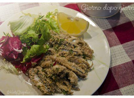 Sardoncino scottadito: ricetta di pesce