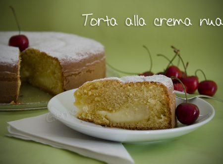 La torta alla crema nua