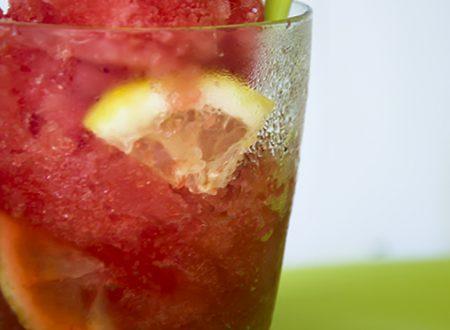 Sorbetto all'anguria, ricetta senza gelatiera