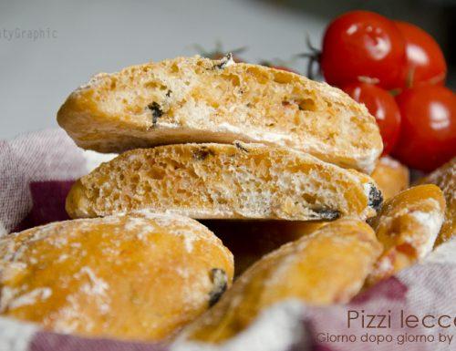 I pizzi leccesi, ricetta lievitato