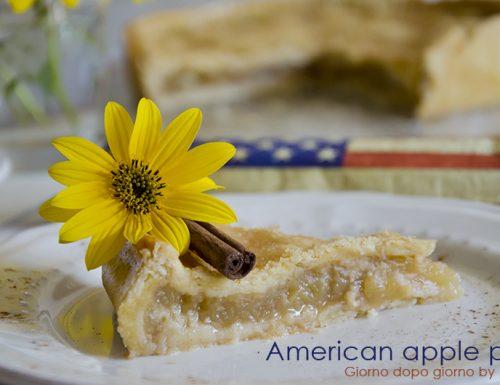 Torta di mele – American apple pie