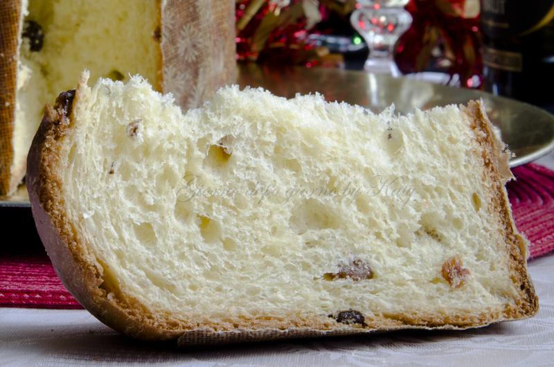 Panettone con uvetta home made Giorno dopo giorno fetta ricetta