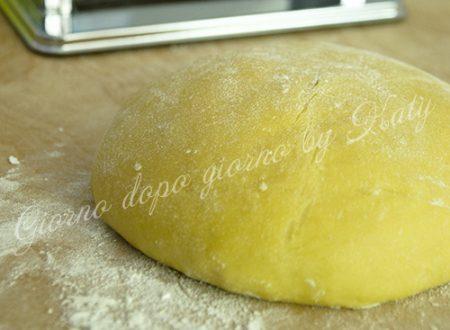 La pasta fresca all'uovo, ricetta base