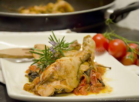 Pollo alla pugliese, ricetta secondo.