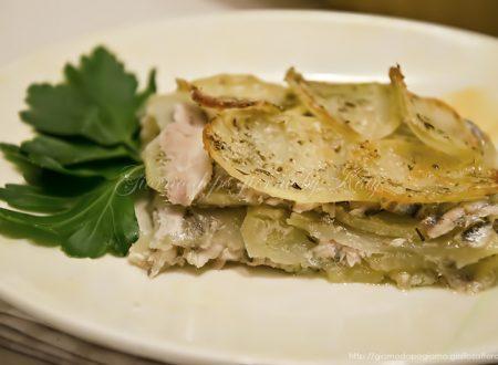 Tortino di patate e sarde, ricetta economica