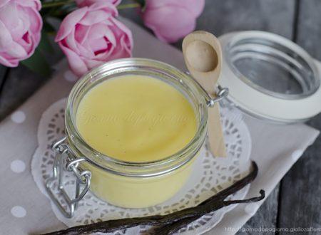 Crema pasticcera, ricetta base (quella della mia mamma!)